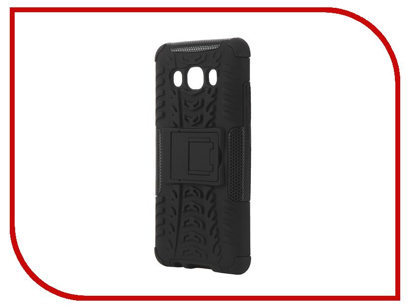 ��������� ����� Samsung Galaxy J5 2016 SkinBox Defender Case Black T-S-SGJ52016-06