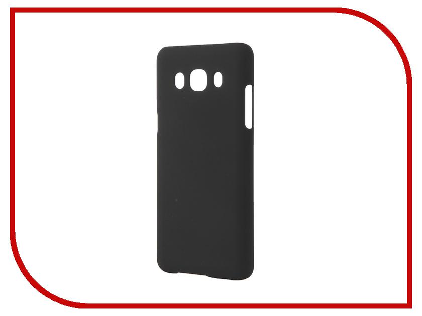 Аксессуар Чехол Samsung Galaxy J5 2016 SkinBox 4People Black T-S-SGJ52016-002 + защитная пленка<br>