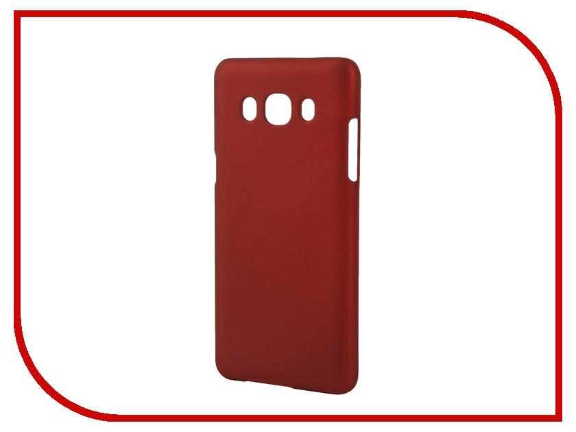 Аксессуар Чехол Samsung Galaxy J5 2016 SkinBox 4People Red T-S-SGJ52016-002 + защитная пленка<br>