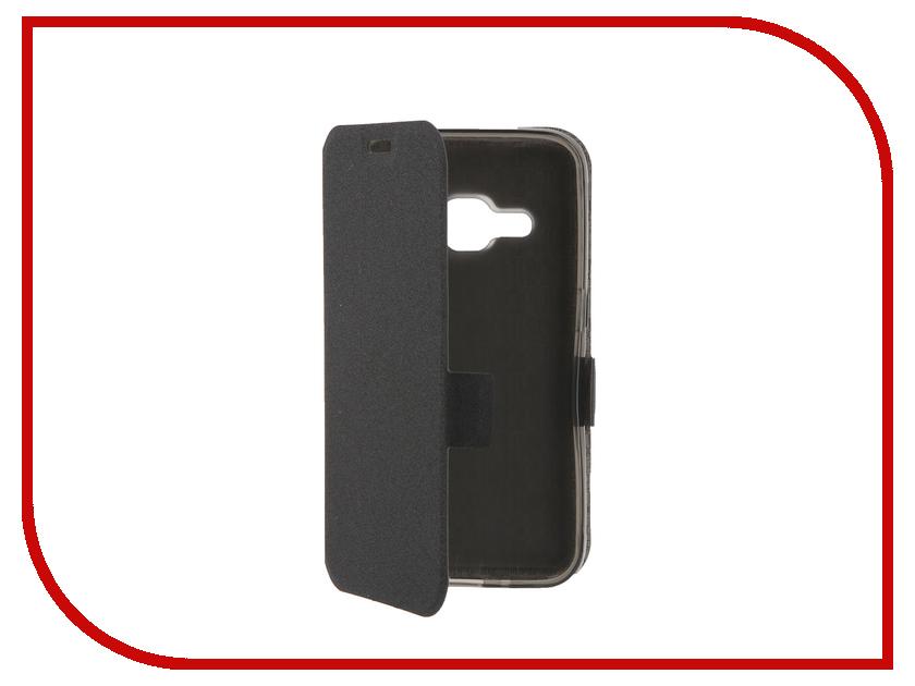 Аксессуар Чехол Samsung Galaxy J1 2016 Prime Book Black T-P-SGJ12016-05<br>