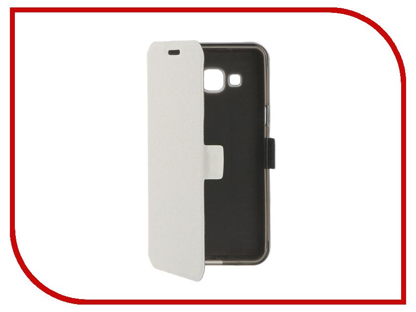 Аксессуар Чехол Samsung Galaxy J3 2016 Prime Book White T-P-SGJ32016-05<br>