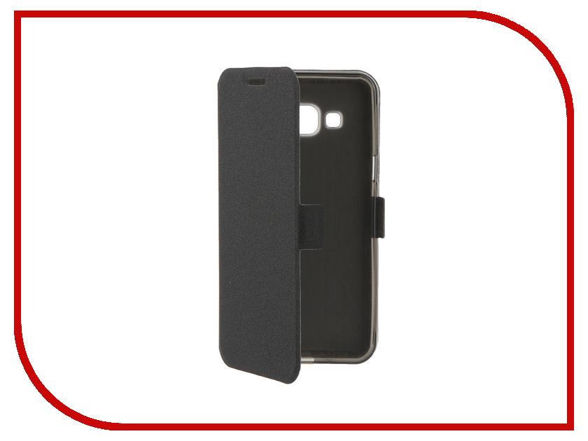 Аксессуар Чехол Samsung Galaxy J3 2016 Prime Book Black T-P-SGJ32016-05<br>