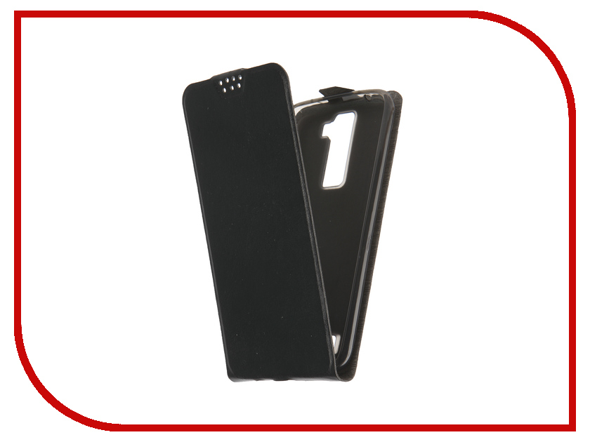 Аксессуар Чехол LG K8 SkinBox Black T-F-LK8<br>