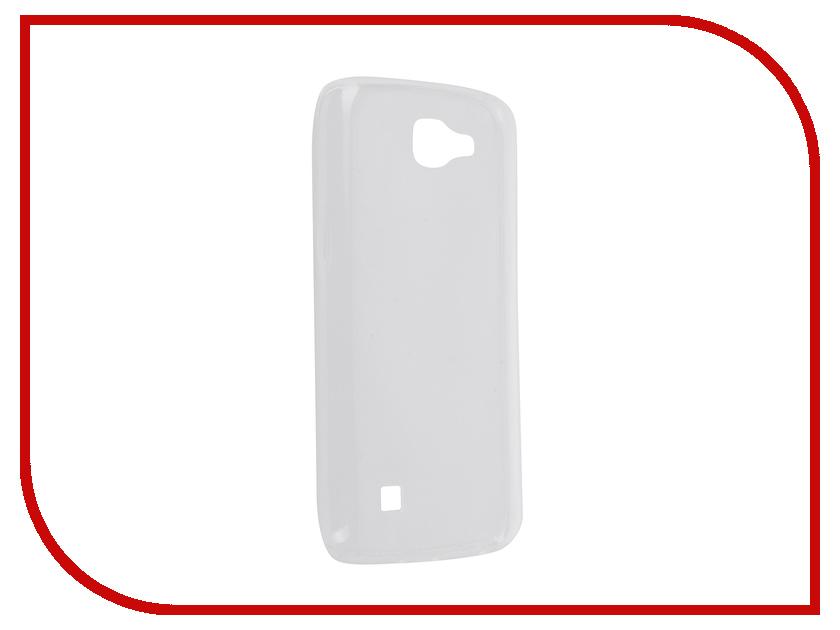 Аксессуар Чехол LG K4 SkinBox 4People Slim Silicone Transparent T-S-LK4-006<br>