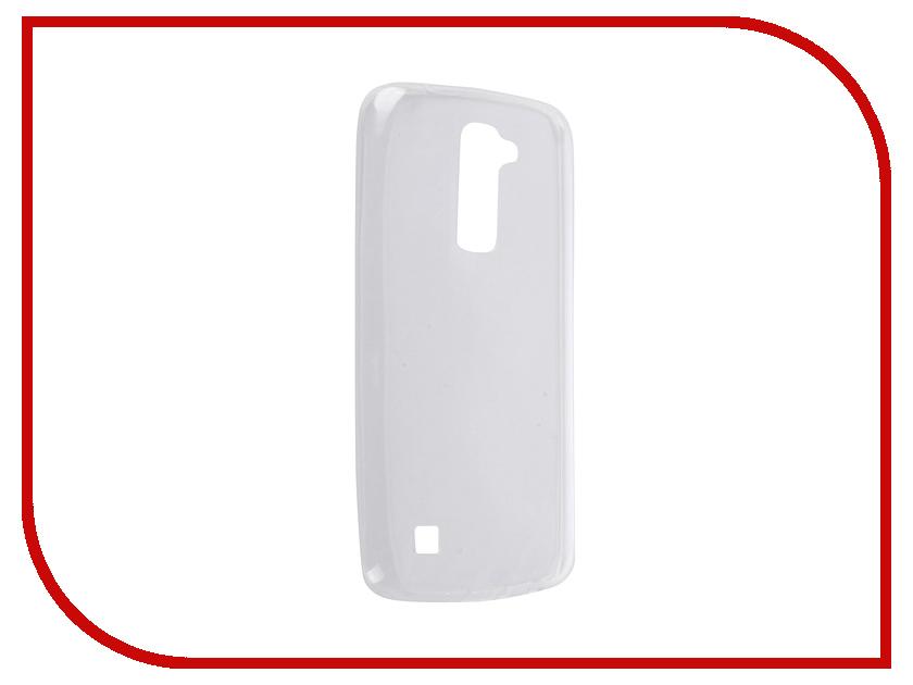 Аксессуар Чехол LG K10 SkinBox 4People Slim Silicone Transparent T-S-LK10-006