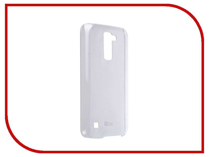 ��������� ����� LG K10 SkinBox 4People Crystal Transparent T-S-LK10-007