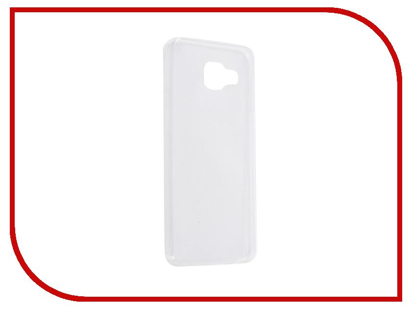 Аксессуар Чехол Samsung Galaxy A3 2016 SkinBox Slim Silicone Transparent T-S-SGA32016-005<br>