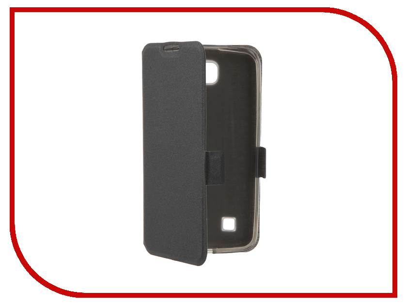 Аксессуар Чехол LG K4 Prime Book Black T-P-LK4-05 аксессуар чехол lenovo vibe c2 skinbox prime book red t p lvc2 05