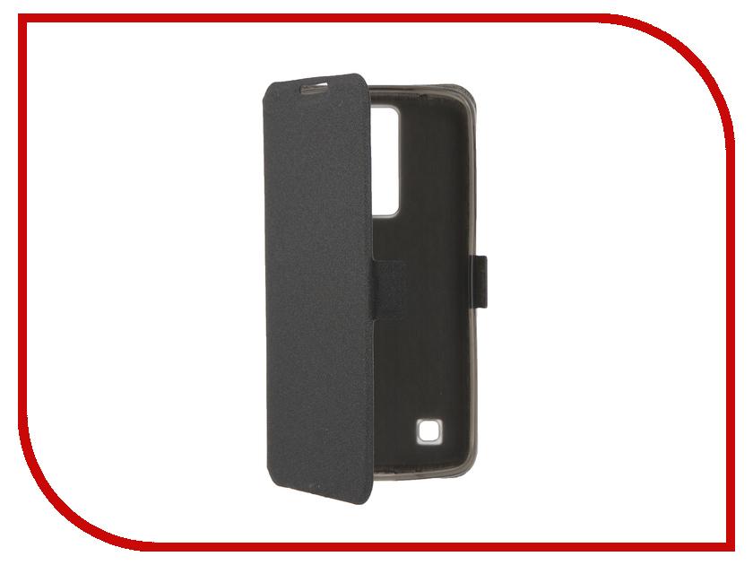 Аксессуар Чехол LG K8 Prime Book Black T-P-LK8-05<br>