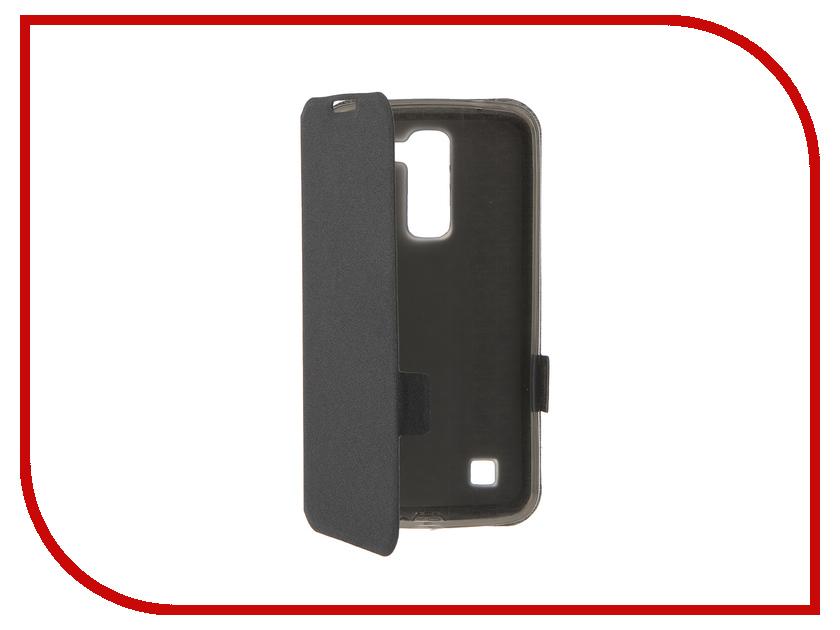 Аксессуар Чехол LG K10 Prime Book Black T-P-LK10-05<br>