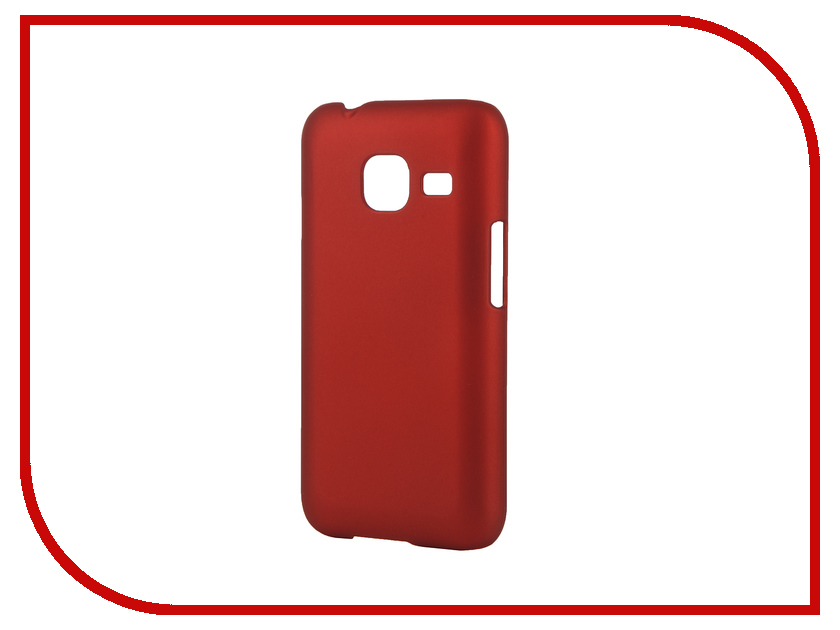 ��������� ����� Samsung Galaxy J1 mini 2016 SkinBox 4People Red T-S-SGJ1m2016-002 + �������� ������