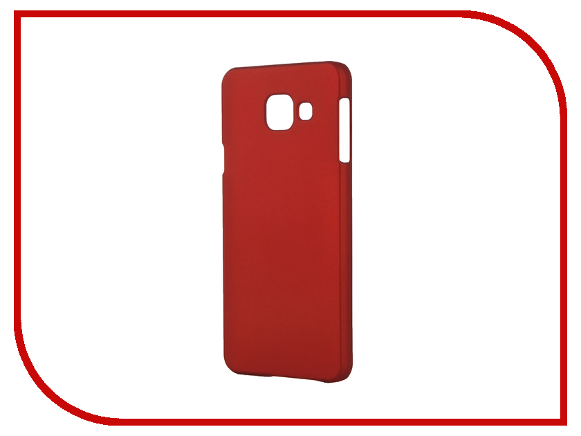 ��������� ����� Samsung Galaxy A3 2016 SkinBox 4People Red T-S-SGA32016-002 + �������� ������