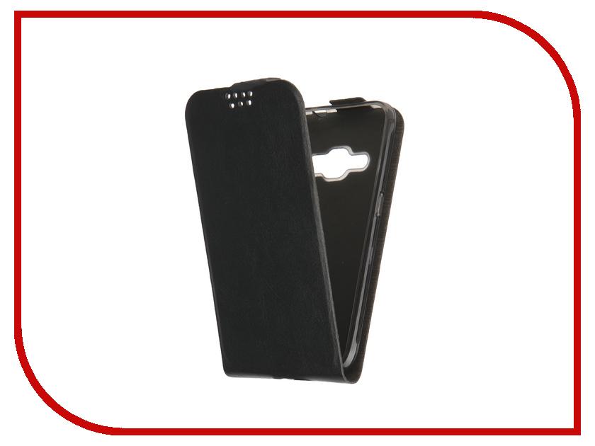 Аксессуар Чехол Samsung Galaxy J1 2016 SkinBox Slim Black T-F-SGJ12016<br>