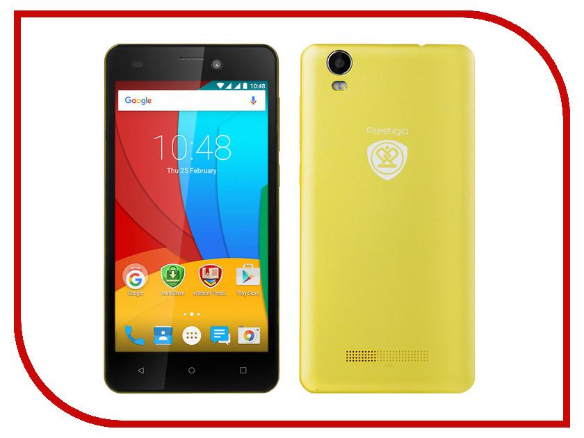 Сотовый телефон Prestigio Wize N3 3507 DUO Yellow PSP3507DUOYELLOW<br>