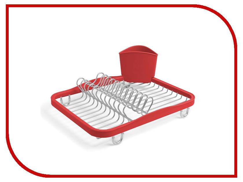 Кухонная принадлежность Umbra Sinkin Red 330065-718 - сушилка для посуды<br>