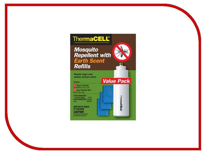 Средство защиты от комаров ThermaCELL MR E400-12 (4 газовых картриджа + 12 пластин) электрогрелка thermacell xxlarge hw xxl 06