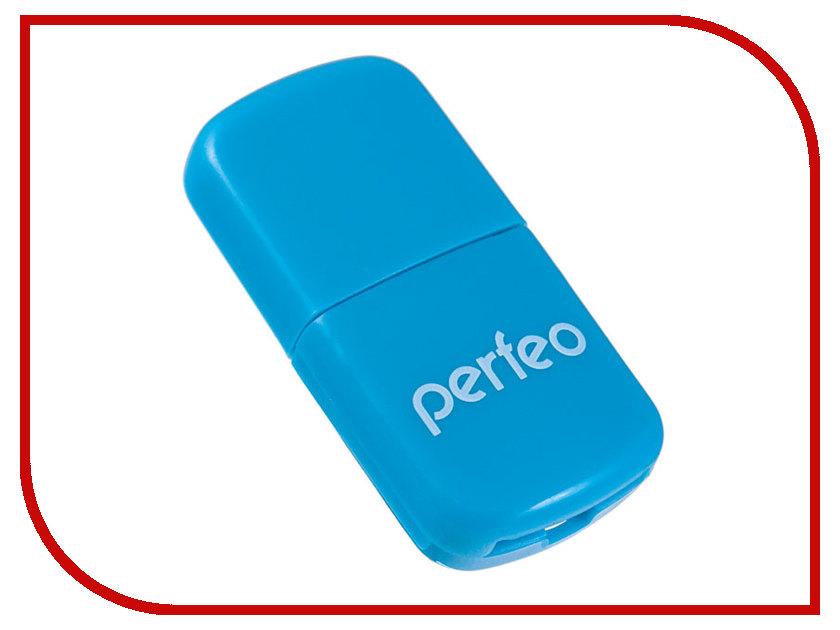 цена на Карт-ридер Perfeo PF-VI-R009 Blue