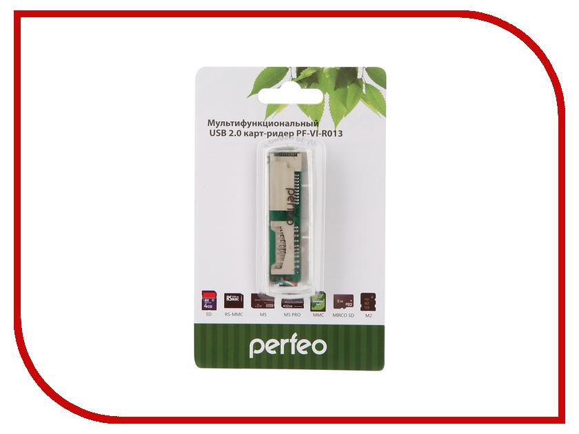 Карт-ридер Perfeo PF-VI-R013 White