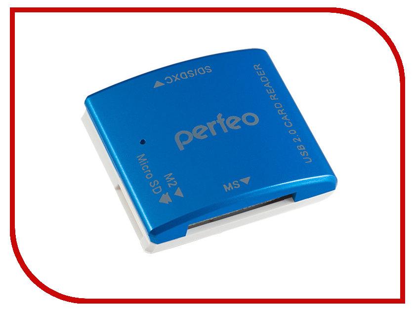 Карт-ридер Perfeo PF-VI-R014 Blue от Pleer