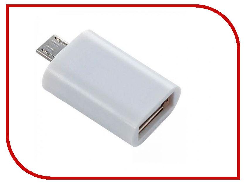 Аксессуар Perfeo USB - Micro USB PF-VI-O002 White flash mp3 плеер perfeo music clip titanium vi m001 4gb blue