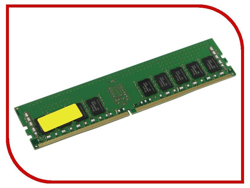 Модуль памяти Kingston DDR4 DIMM 2400MHz PC4-19200 CL17 - 8Gb KVR24R17S4/8