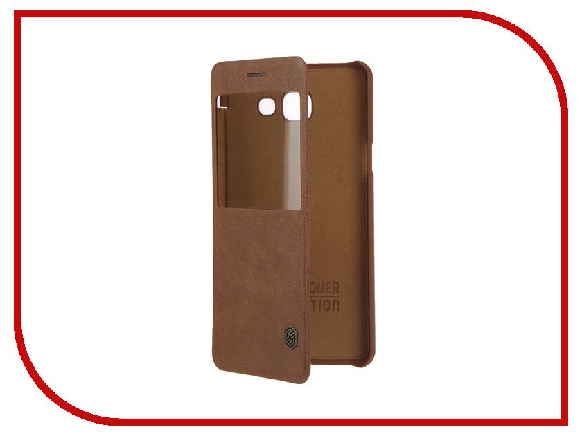 ��������� ����� Samsung Galaxy A5 2016 Nillkin Qin Leather Case Brown T-N-SGA52016-025