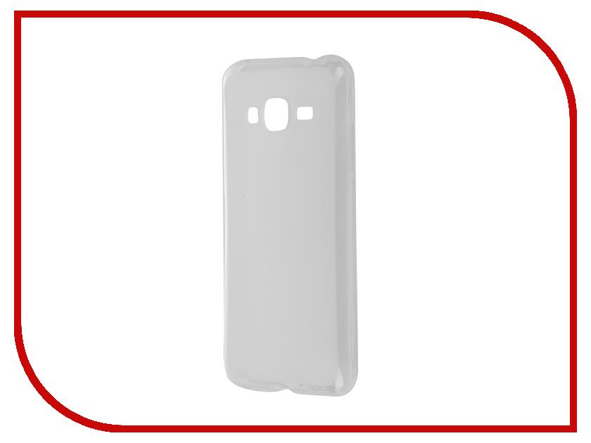 Аксессуар Чехол Samsung Galaxy J3 2016 SkinBox 4People Silicone Case Transparent T-S-SGJ32016-005<br>