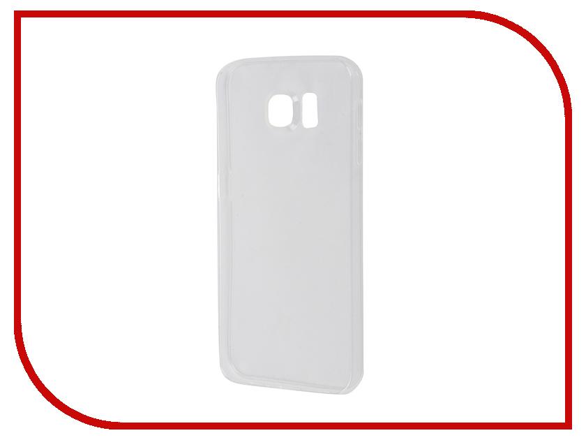 Аксессуар Чехол Samsung Galaxy S7 Plus SkinBox Slim Silicone Transparent T-S-SGS7P-006<br>