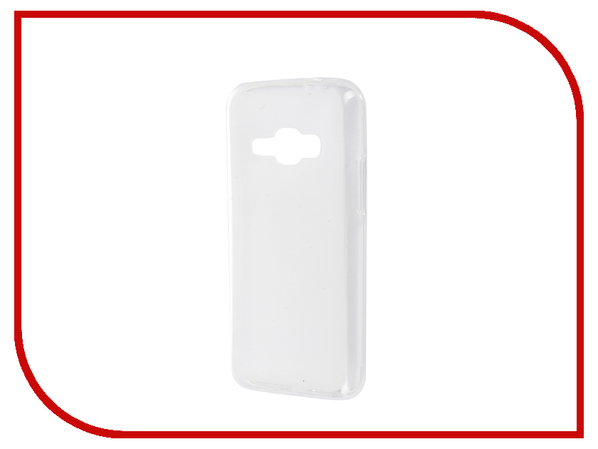 Аксессуар Чехол Samsung Galaxy J1 2016 SkinBox Shield Silicone Transparent T-S-SGJ12016-005<br>
