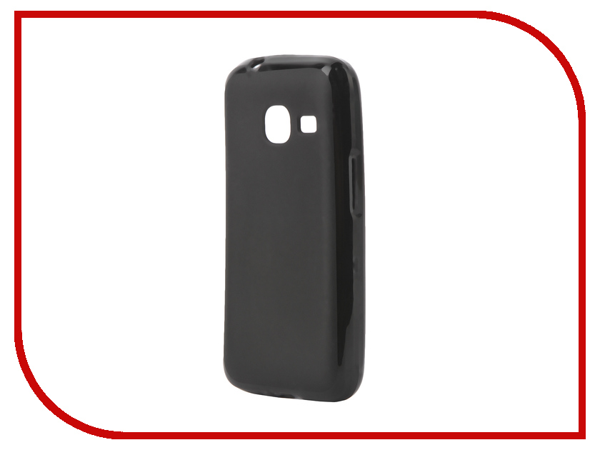 Аксессуар Чехол Samsung Galaxy J1 mini 2016 SkinBox Shield Silicone Black T-S-SGJ1M-005<br>