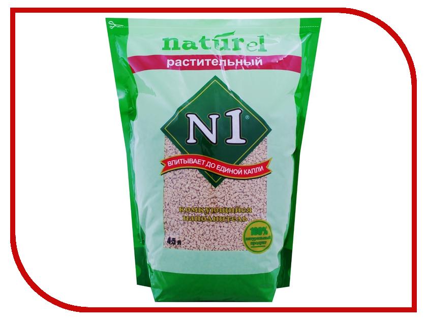 Наполнитель N1 NATUReL Растительный 4.5L 92402<br>