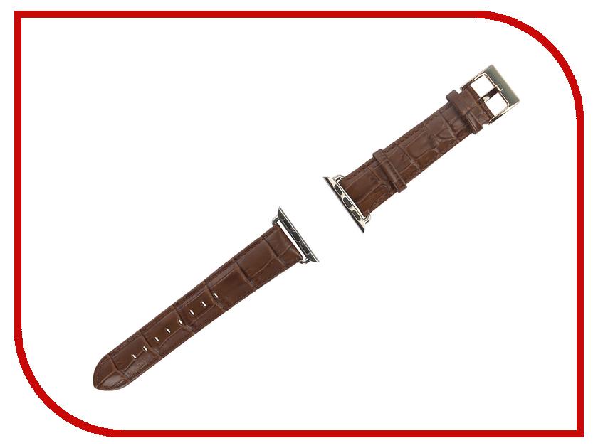 Аксессуар Браслет APPLE Watch Remax RM 381 Brown Leather<br>