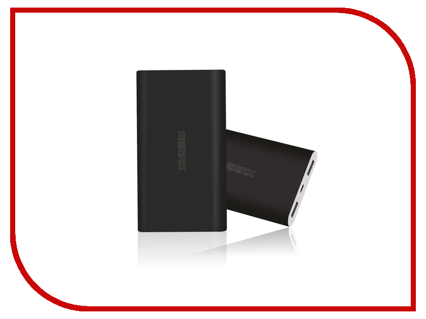 Аккумулятор Remax Vanguard 10000 mAh Black<br>