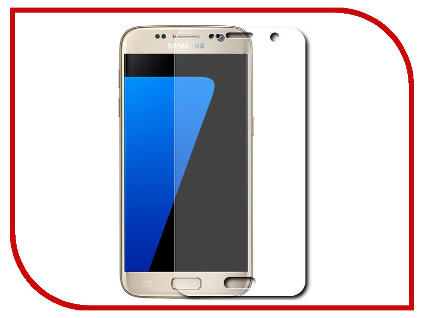 Аксессуар Защитное стекло Samsung Galaxy S7 Dismac Tempered Glass H9<br>