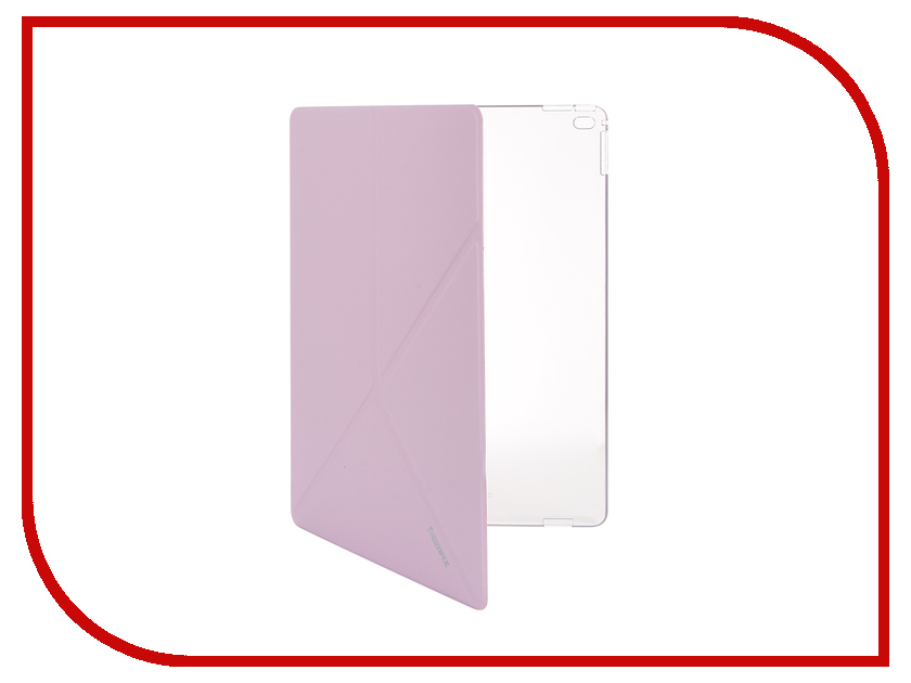 Аксессуар Чехол APPLE iPad Pro 12 Remax Transformer Pink<br>