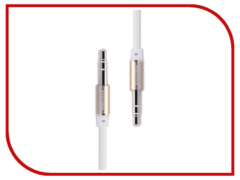 Аксессуар Remax AUX 3.5 Jack/M - 3.5 Jack/M L100 White