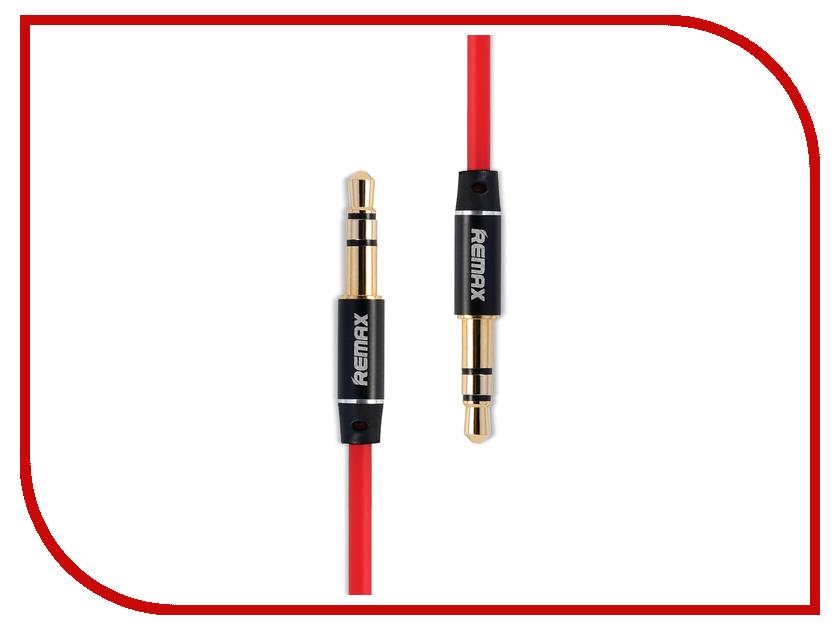 Аксессуар Remax AUX 3.5 Jack/M - 3.5 Jack/M L100 Red<br>