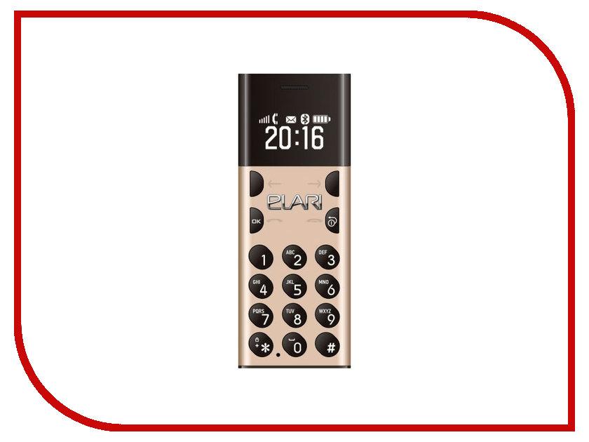 Сотовый телефон Elari NanoPhone Gold<br>