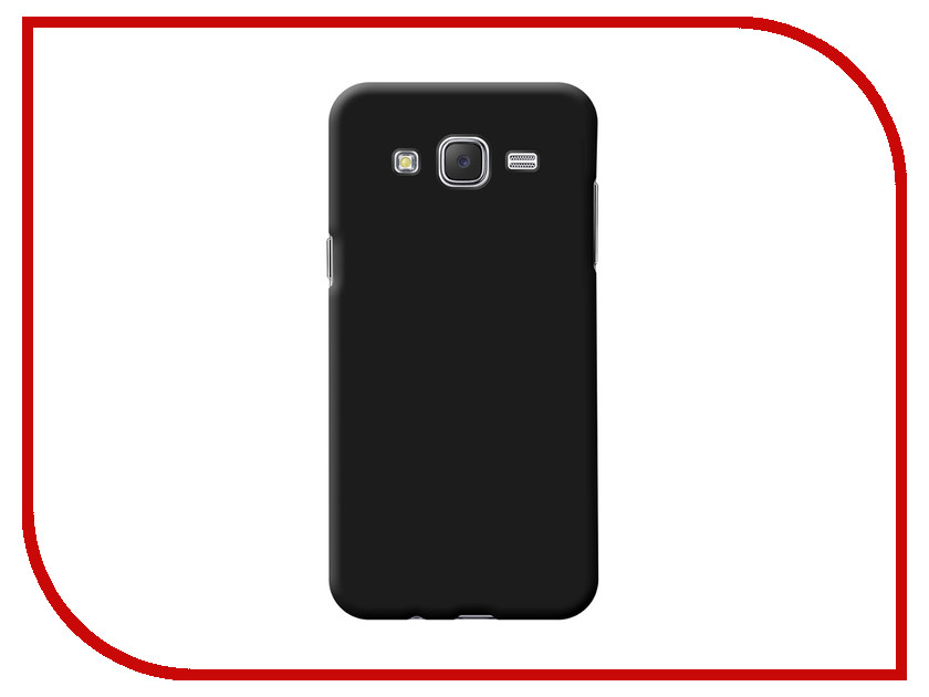 Аксессуар Чехол Samsung Galaxy J510 Deppa Air Case Black 83250<br>