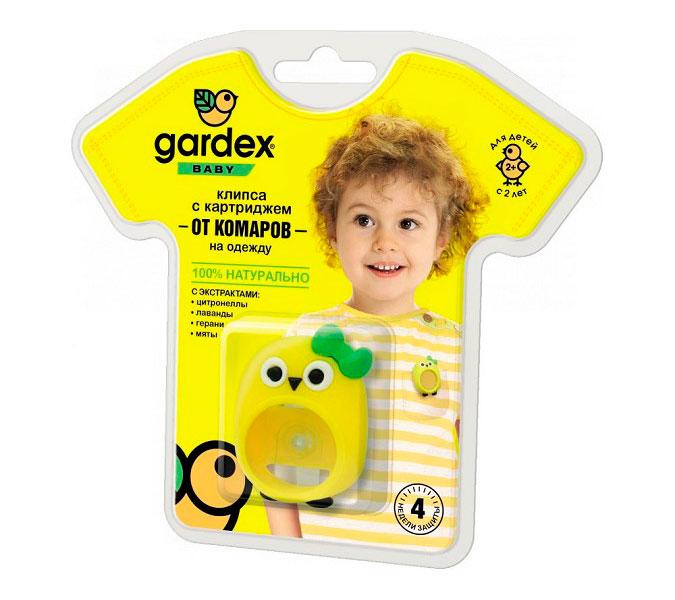 Средство защиты от комаров Gardex Baby Клипса на одежду