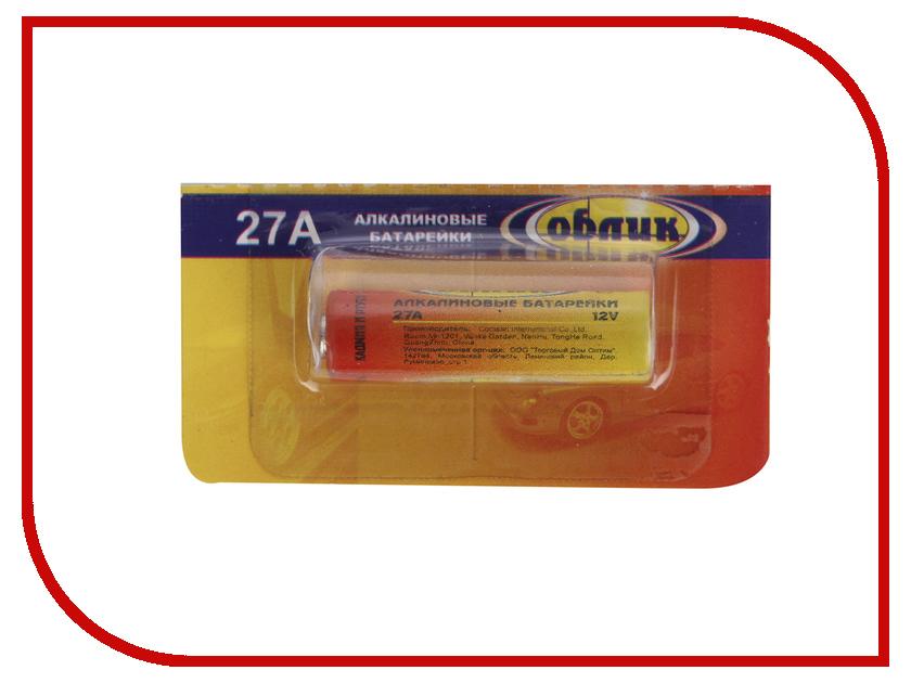 Батарейка 27А - Облик Alkaline ОБ-668 (1 штука)<br>