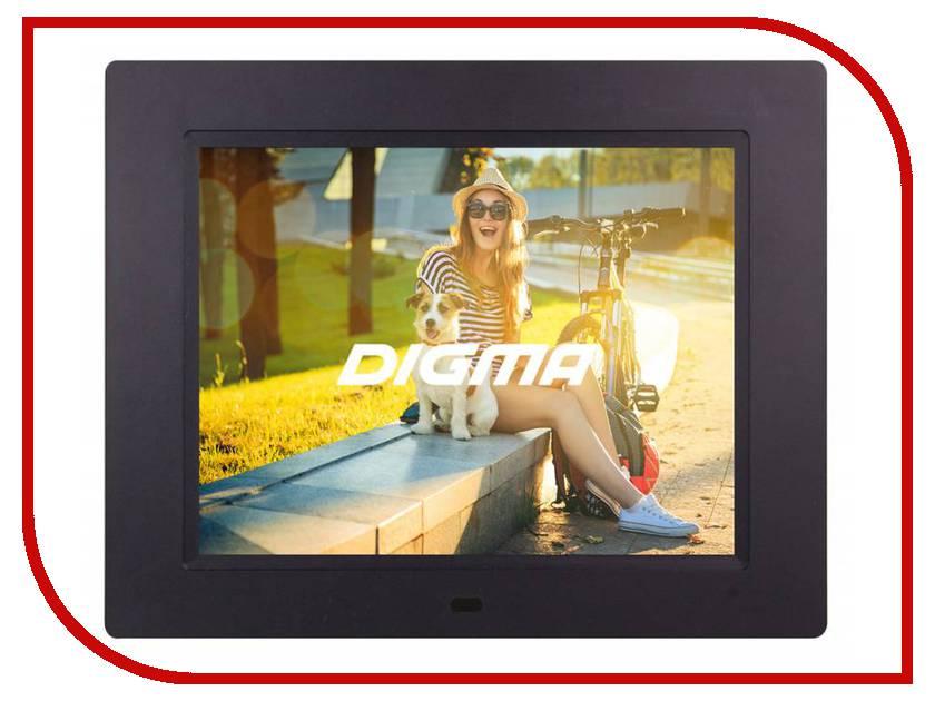 Цифровая фоторамка Digma PF-833 Black цифровая фоторамка digma pf 733 black