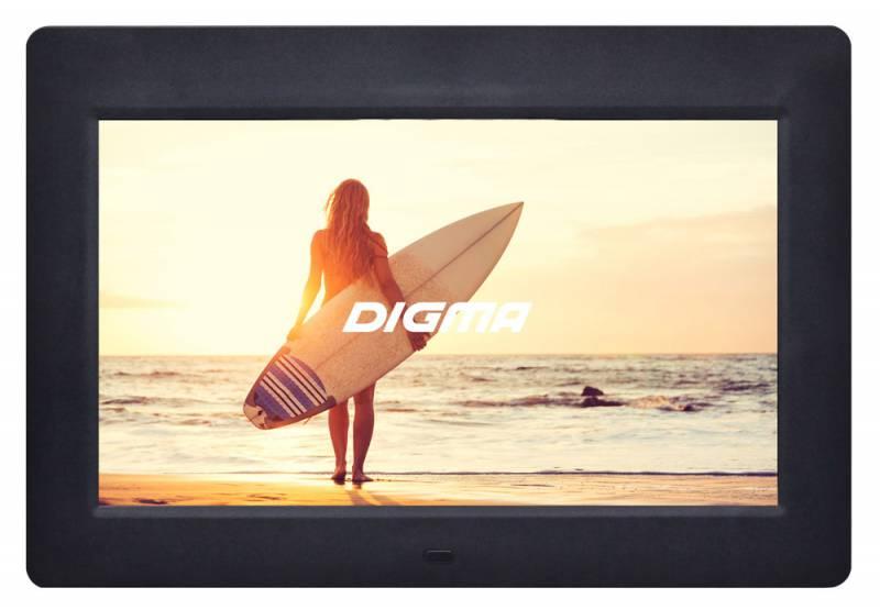 Цифровая фоторамка Digma PF-1033 Black