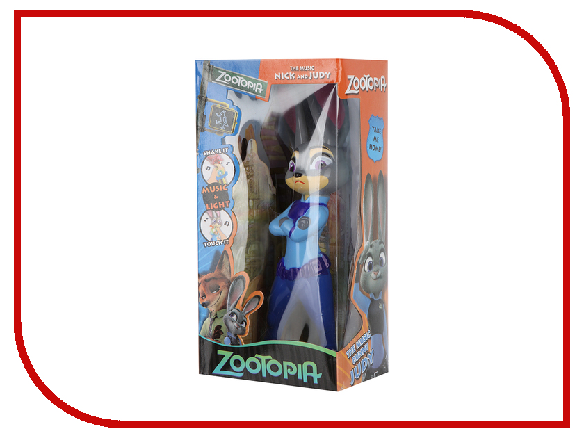 Игрушка Panawealth Зайка Джуди ZP005