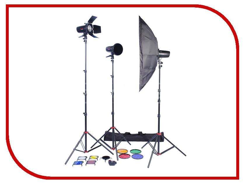 Комплект студийного света Falcon Eyes SSK 2-150BJ/1-200BJ PRO<br>
