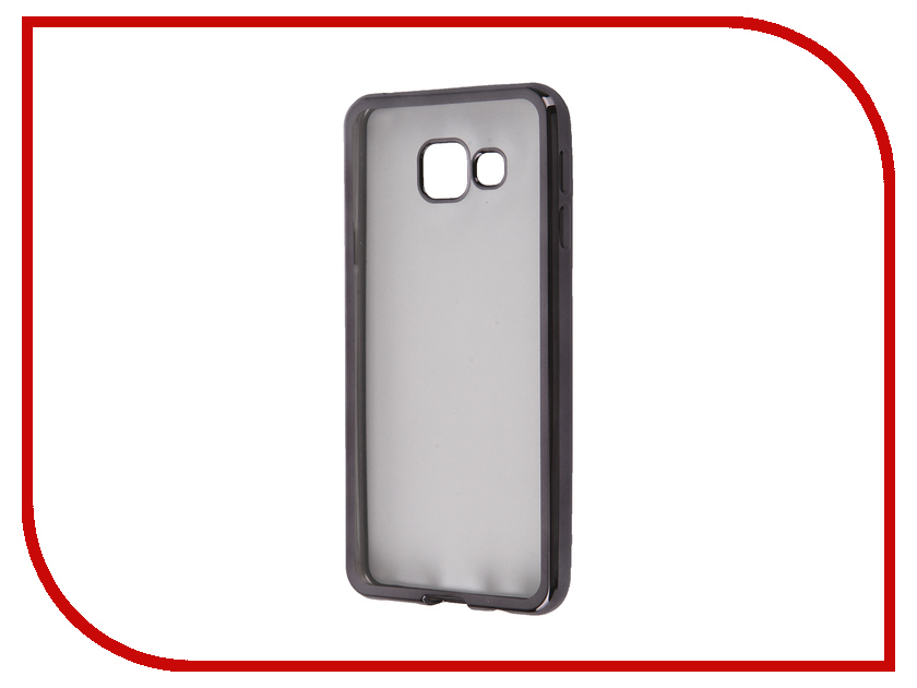 Аксессуар Чехол Samsung Galaxy A3 2016 DF sCase-22 Black<br>