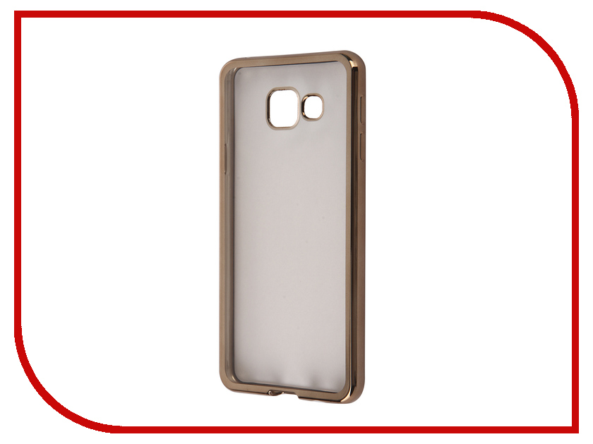 Аксессуар Чехол Samsung Galaxy A3 2016 DF sCase-22 Gold<br>