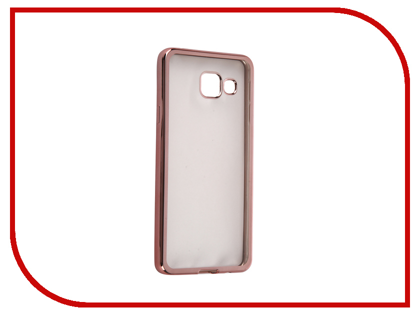 Аксессуар Чехол Samsung Galaxy A3 2016 DF sCase-22 Rose Gold аксессуар чехол samsung g925f galaxy s6 edge df scase 19 rose gold