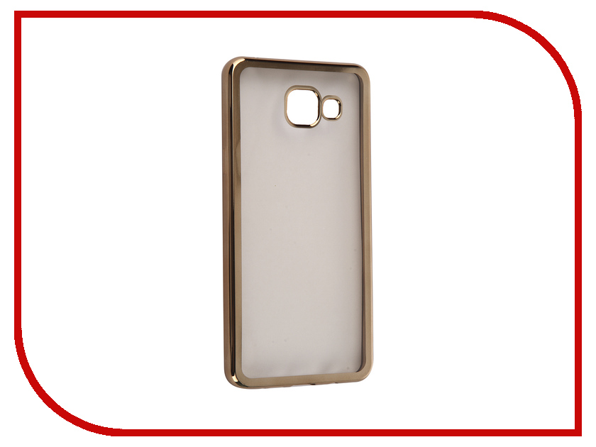 Аксессуар Чехол Samsung Galaxy A5 2016 DF sCase-23 Gold аксессуар чехол samsung g925f galaxy s6 edge df scase 19 rose gold