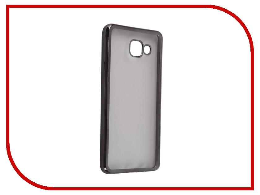 Аксессуар Чехол Samsung Galaxy A7 2016 DF sCase-24 Black